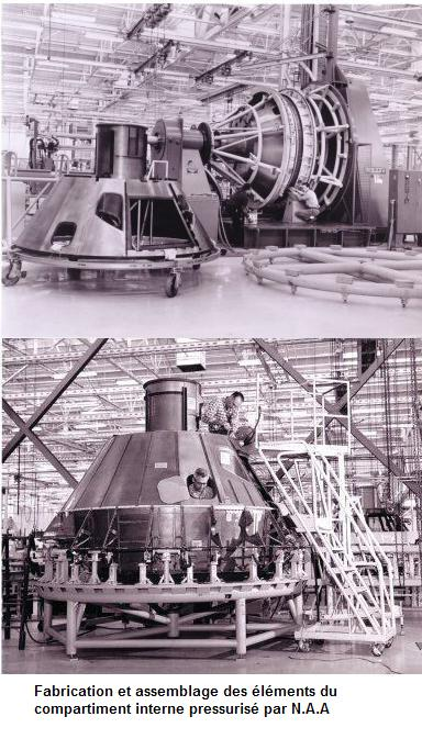 Apollo command module at North American - collectSPACE ...